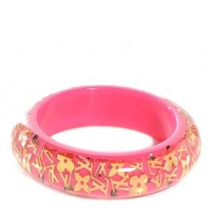 Louis Vuitton X Swarovski Pink rose gold bangle